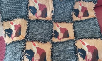 Rooster Quilt 2