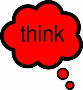 Think clip art