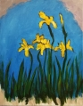 Van Gogh Yellow Irises