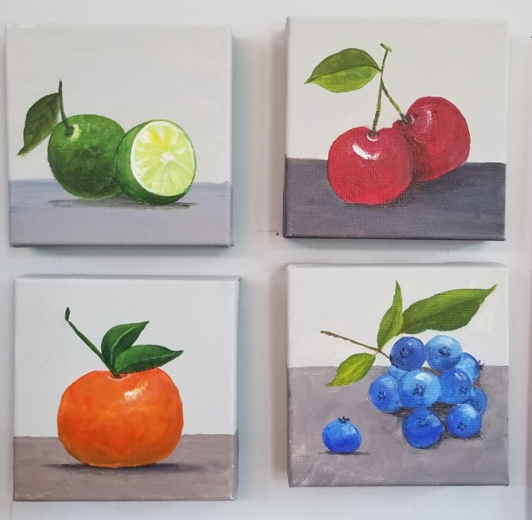 Fruit 4 smalls