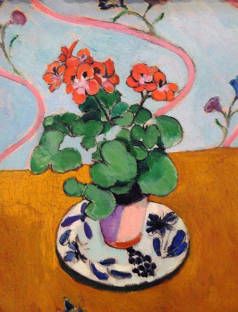 Matisse Geraniums 1915