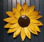 Metal Flower Sun